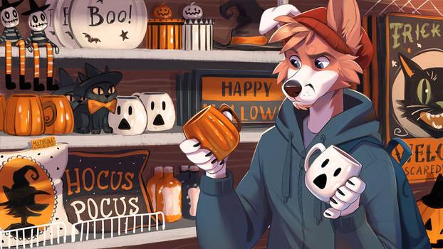Ghost or pumpkin?