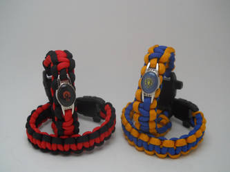 World of Warcraft Paracord Bracelets by flarewingpwny