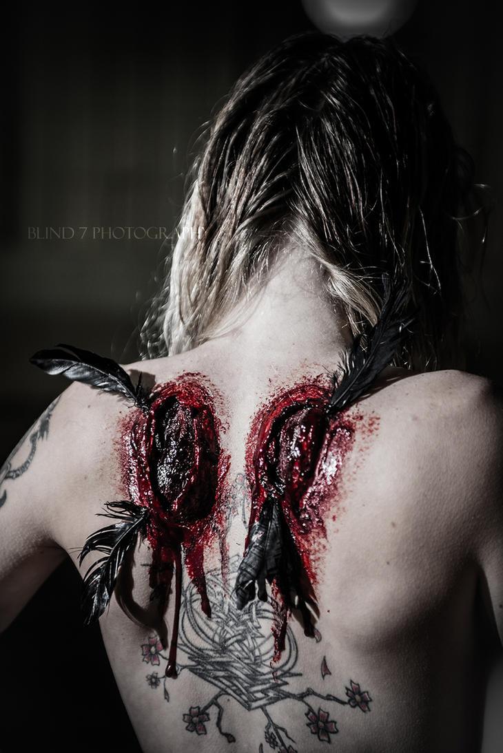 The Fallen tears Bleed by ambientgray
