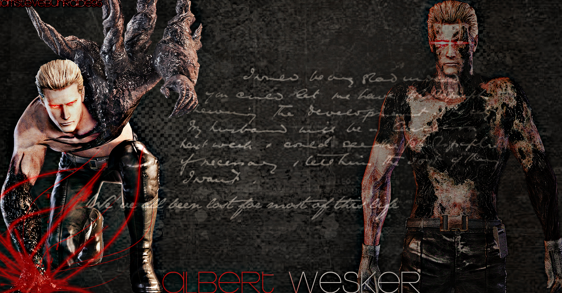 .:Albert Wesker Wallpaper:. by IamSteveBurnside95