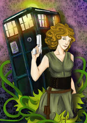 River Song, the Tardis' Child by Aquafolie