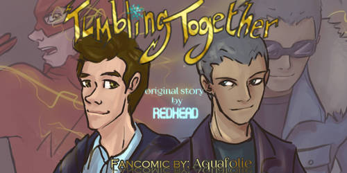 Tumbling Together Banner by Aquafolie
