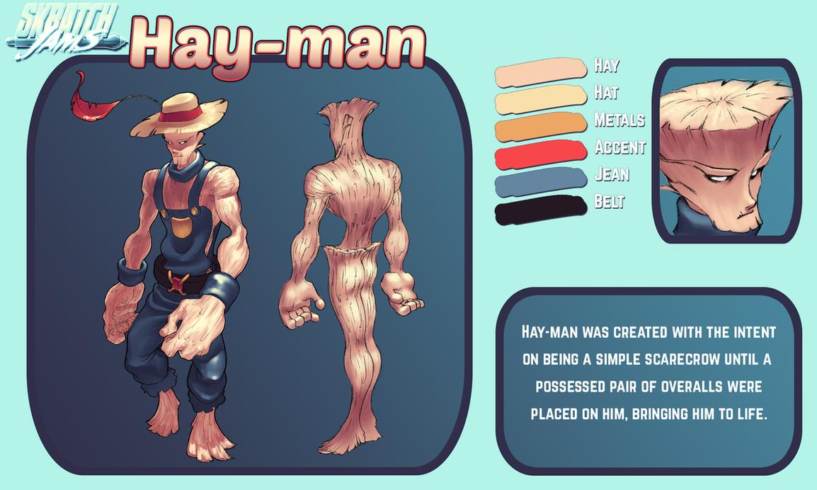 Skratch Jams OC Pool 4: Hay-man by MrEdison