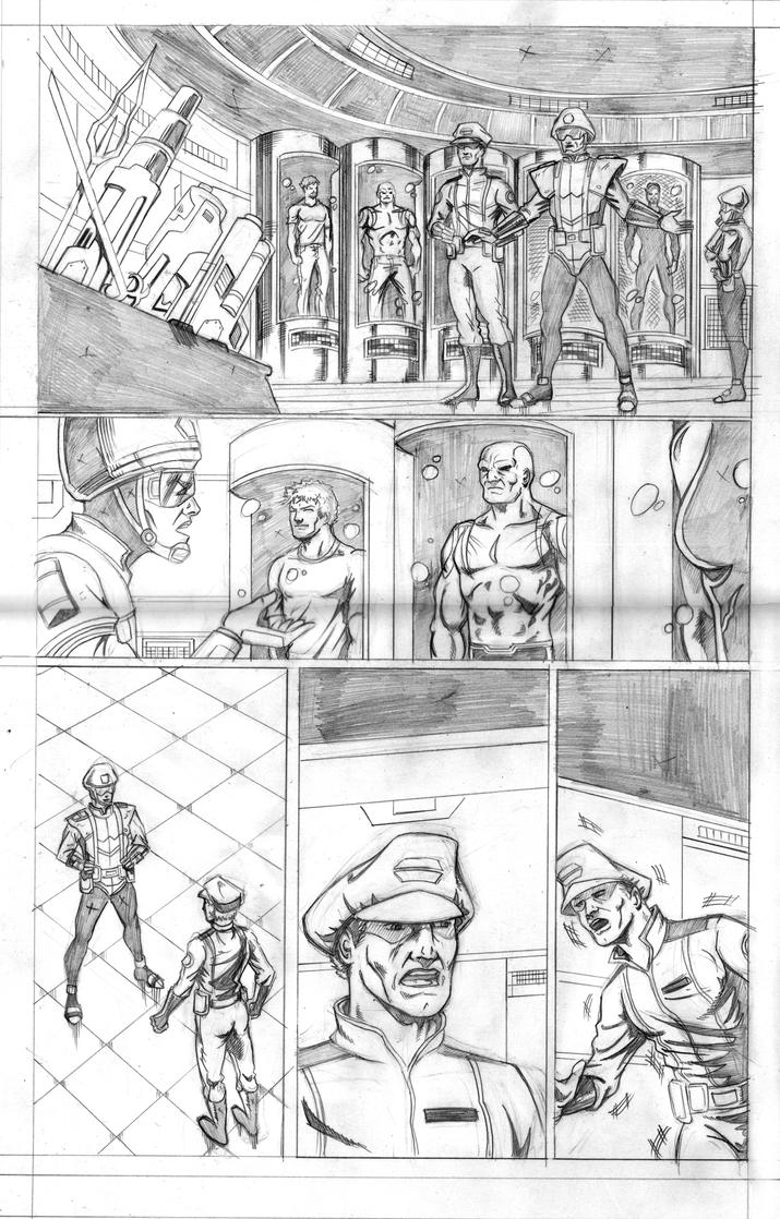 Guardians of the Galaxy  Sample page 1 by hdub7