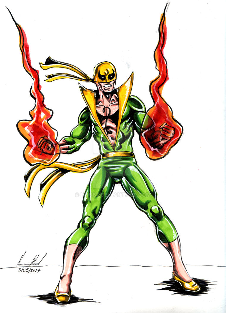 Iron Fist Color by hdub7