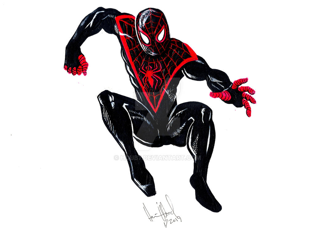Paint Spidey 1-4-19 by hdub7