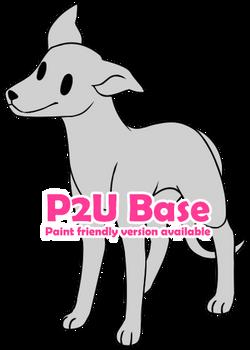 P2U - Chibi Greyhound base