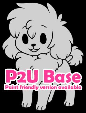 P2U - Chibi Poodle base