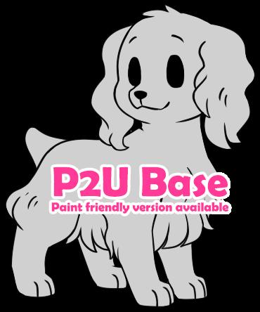 P2U - Chibi Spaniel base