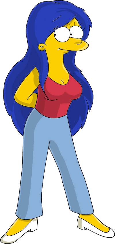Marge is hotter in Color by simpspin