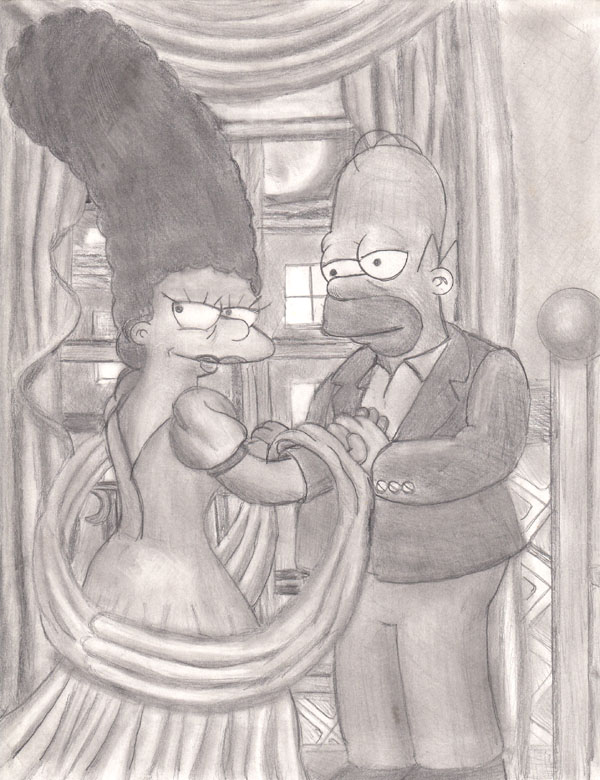 2001: Marge and Homer, older. by simpspin