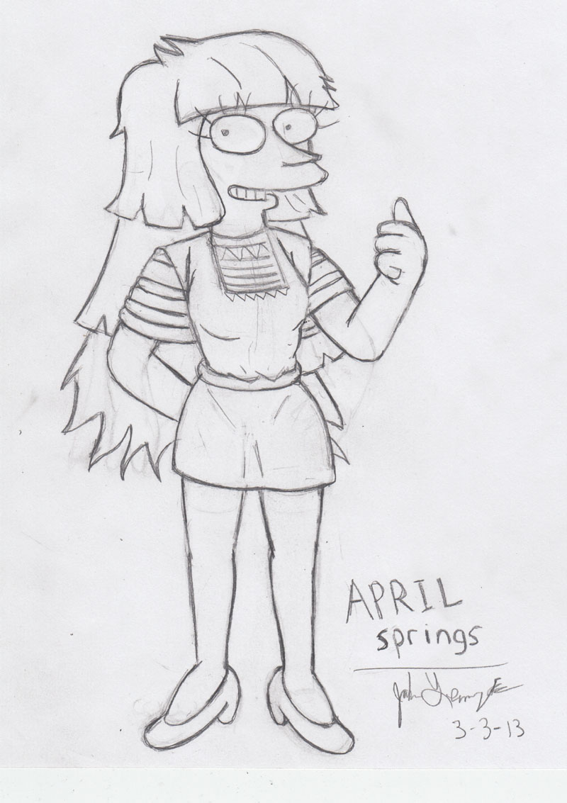 April Springs. by simpspin