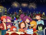 Miss Futurama's B.Day Pic.  Version 2.1