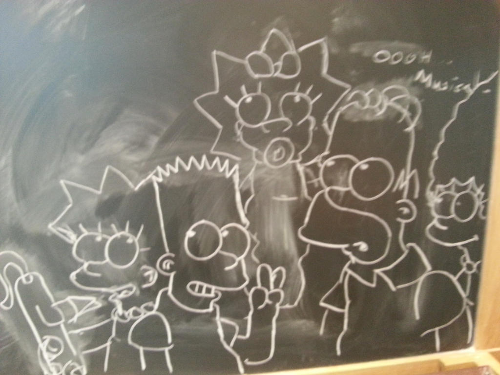 chalky Simpsons by simpspin