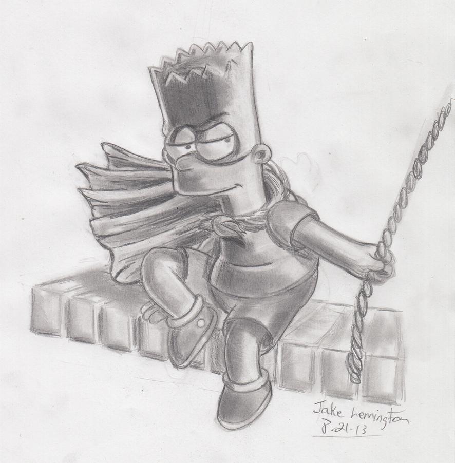 BARTMAN! by simpspin