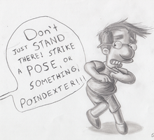 Dang it, Millhouse! by simpspin