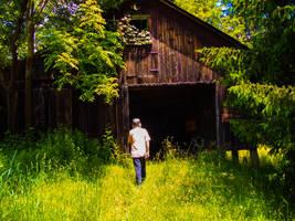 Grandpa's Barn. by simpspin