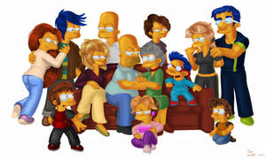 Grandpa Homer and Grandma Marge's house. by simpspin
