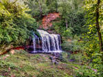 Osceola Waterfall HDR by simpspin