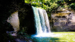 Minnopa Falls State Park 1 by simpspin