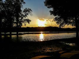 Mississippi Sunset by simpspin