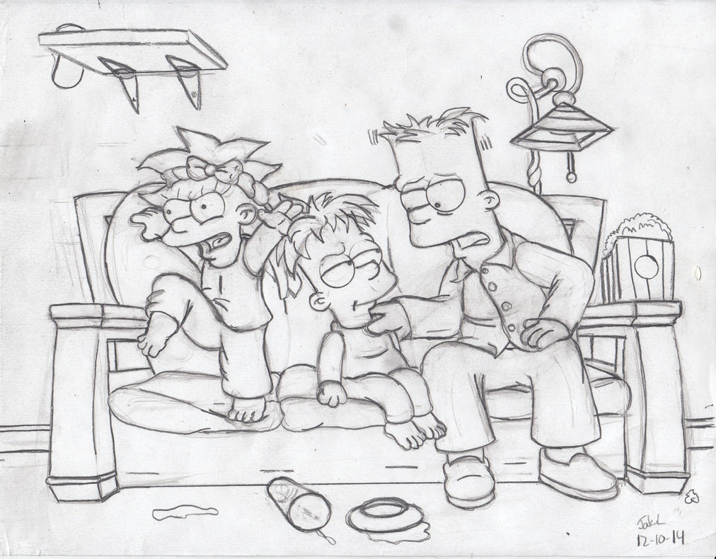 Bart the Babysitter. by simpspin