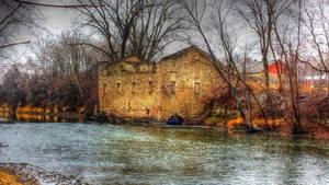Dundas Mill Ruins 1 by simpspin