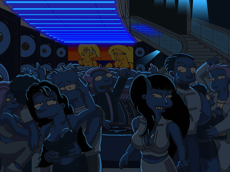Bart in the Club by simpspin