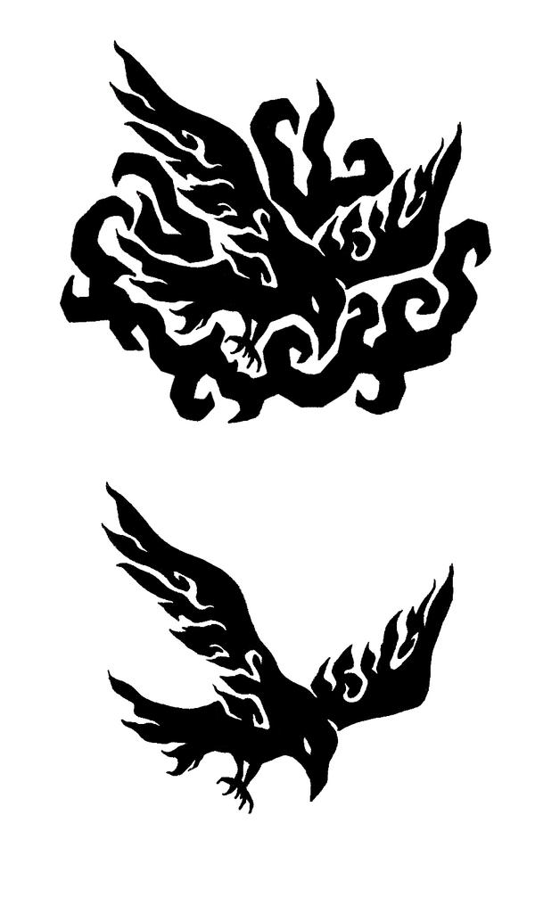 Crow Tattoo Design by ~ash-night-k on deviantART