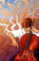 WIP Cello Player by ash-night-k