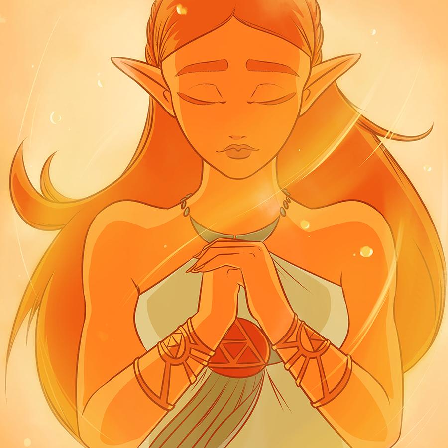 Zelda - Breath of  the Wild Fan Art by DonCorgi