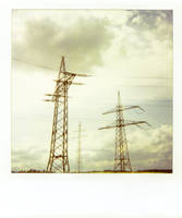 Electricity Polaroid 1 by LightOfThe80ies