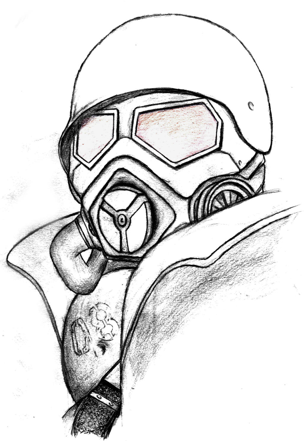 fallout coloring pages - ncr veteran fallout new vegas by rchdetc on deviantart