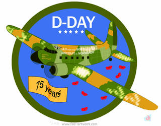 D-Day 75th Anniversary Tribute by Fad-Artwork