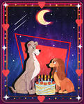 Lady and the Tramp's Bella Notte by Fad-Artwork