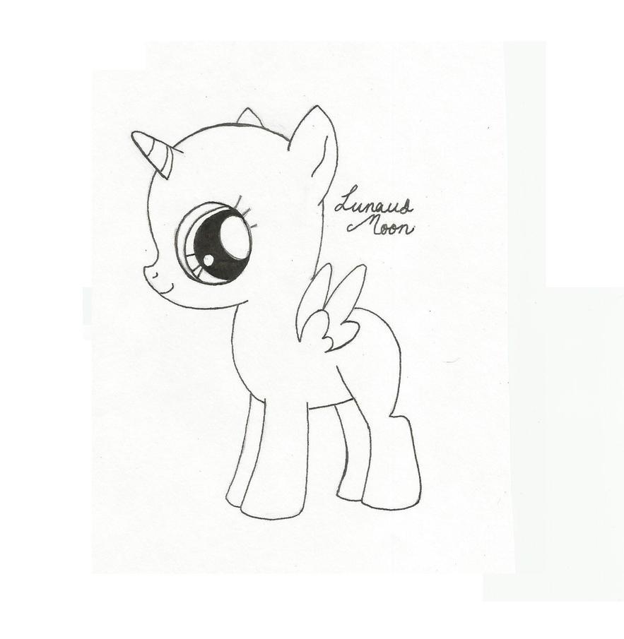 Baby Alicorn Base By LunausMoon On DeviantArt