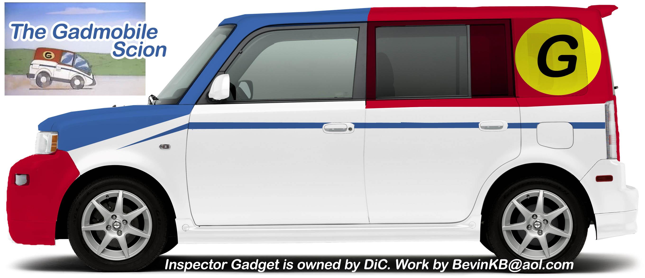 Gadget Van Scion by Be...
