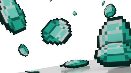 Minecraft diamond by chaosmac