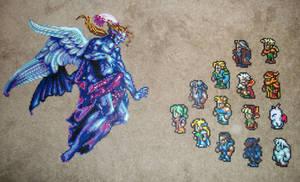 Final Fantasy VI Bead Sprites
