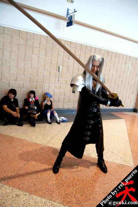 Sephiroth cosplay at Metrocon by DartFeld