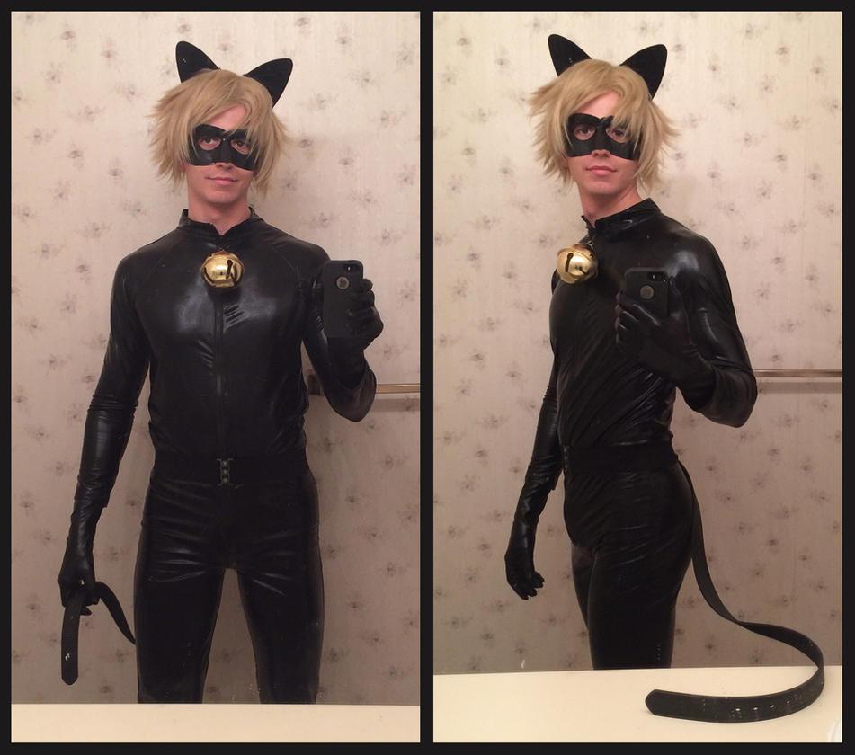 Как сделать костюм супер кота своими руками 22