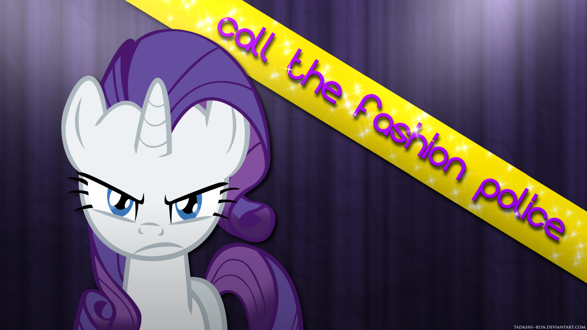 Rarity: Call the fashion police - Wallpaper