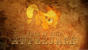 Buck it like Applejack - Wallpaper by Tadashi--kun