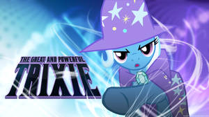 Trixie and her awesome Magic - Wallpaper