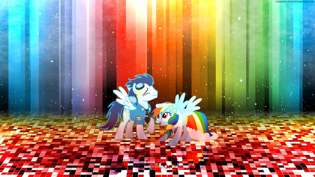 Colorful Dance - Wallpaper by Tadashi--kun