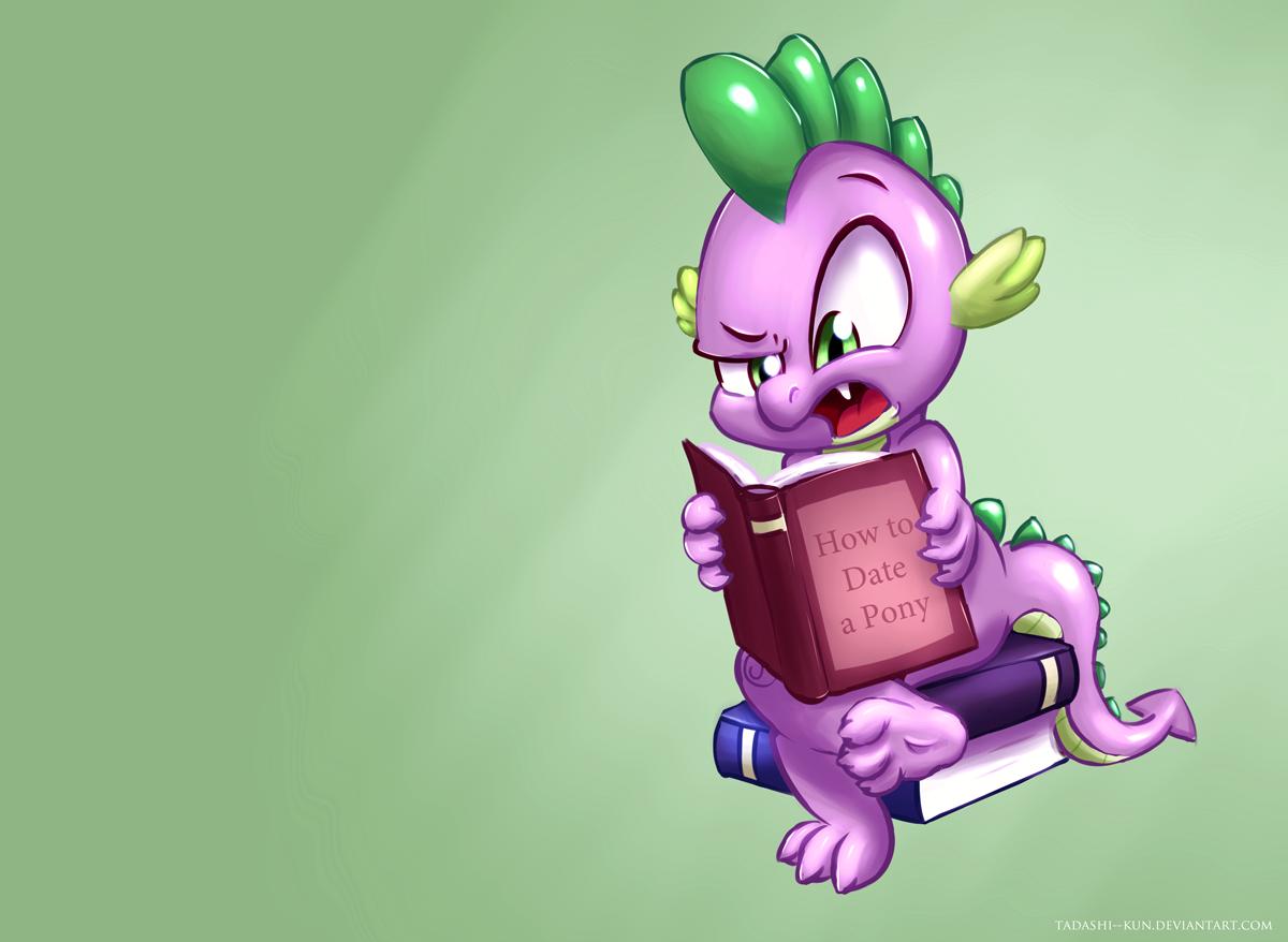 Spike is reading by Tadashi--kun