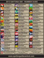 2013 Daytona 500 Number Guide