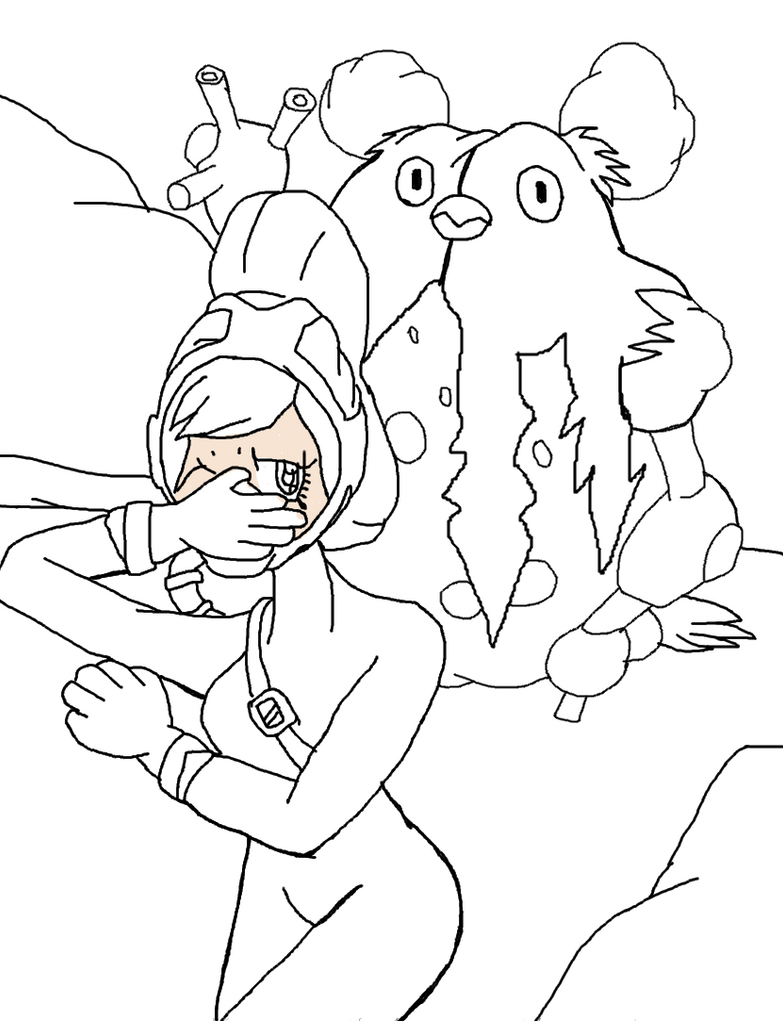 sin cara coloring pages online - photo #48