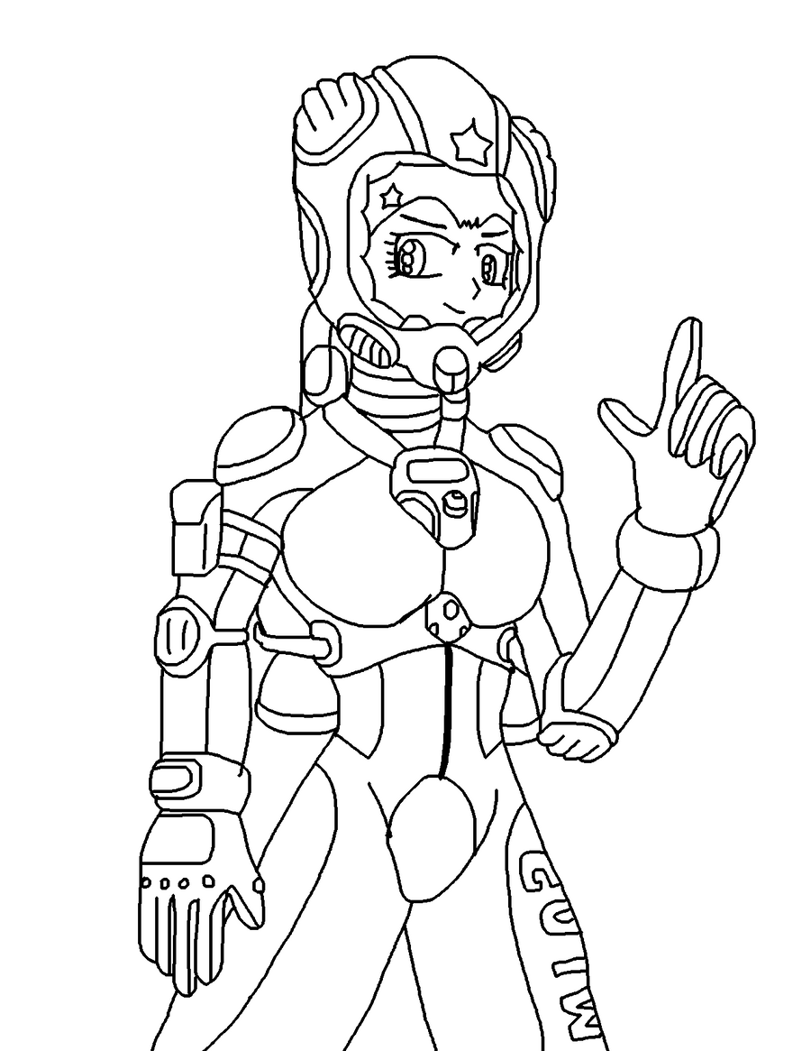 Mimi's Suit lineart by JDogindy on DeviantArt