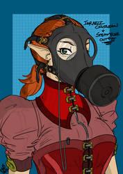 Steampunk'd Melanie by JDogindy